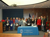 Citizen Police Academy group