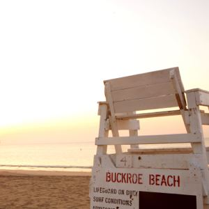 Buckroe Beach- Lifeguard stand