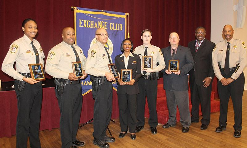 Wythe Exchange Club honors Sheriff's Office