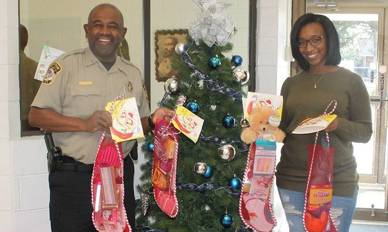 Sheriff's Office Donates Salvation Army Stockings