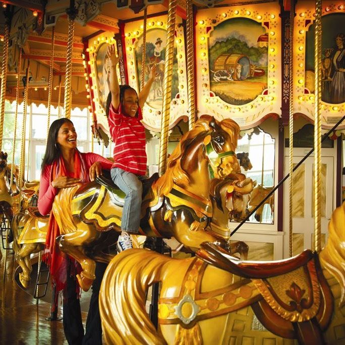 Hampton VA 1 -Antique Hampton Carousel