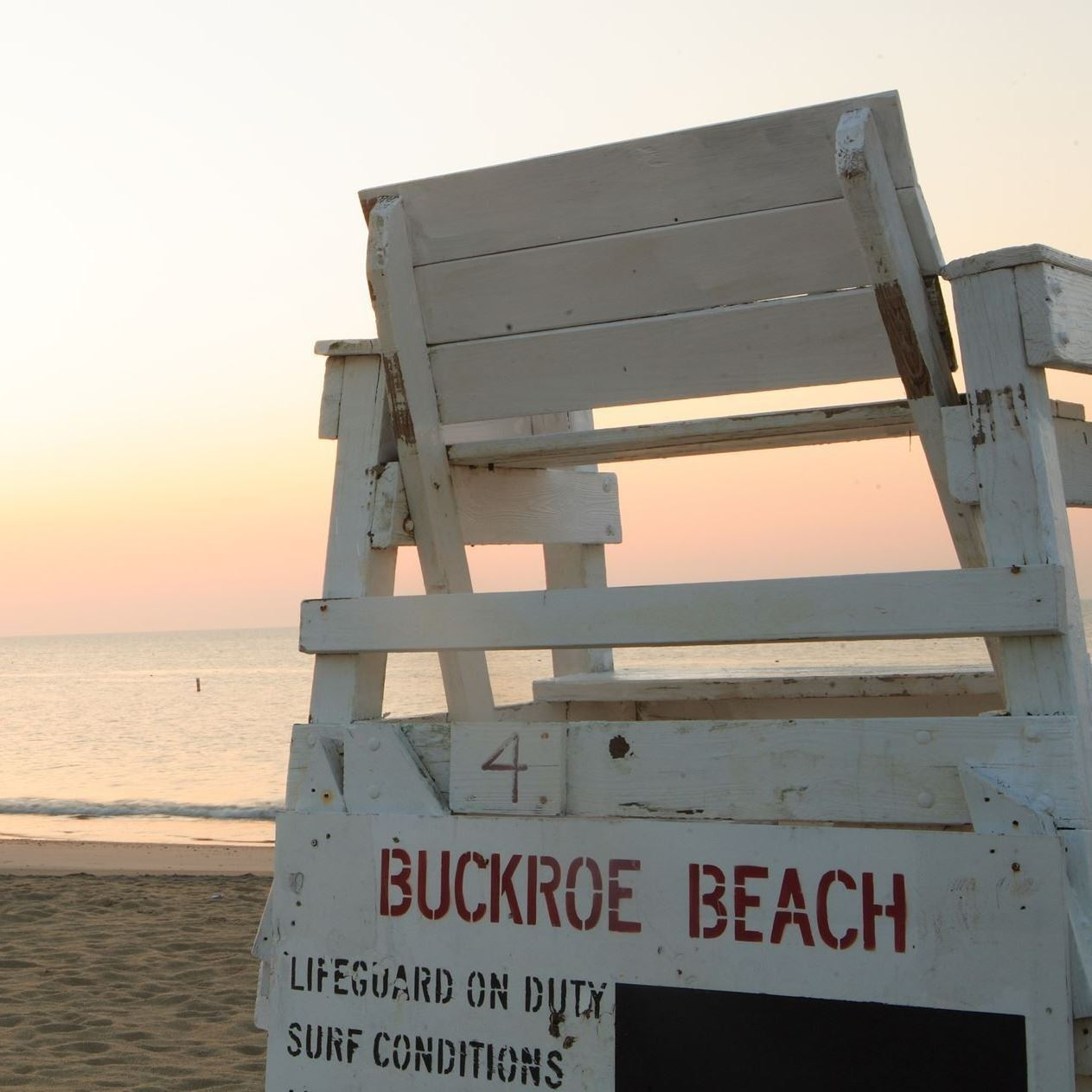 Buckroe Beach - Lifeguard stand