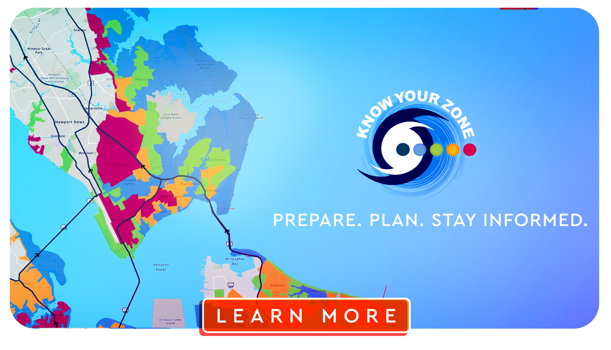 Know Your Zone web ad