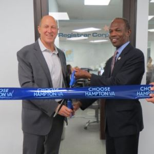 Registrar Ribbon-Cutting