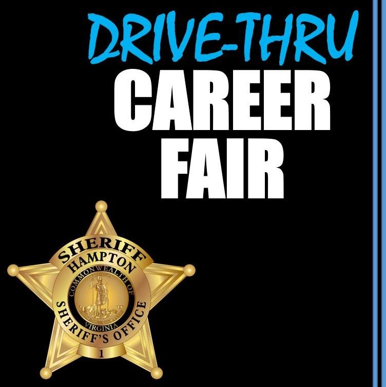 sheriff Drive Thru Career Fair Image