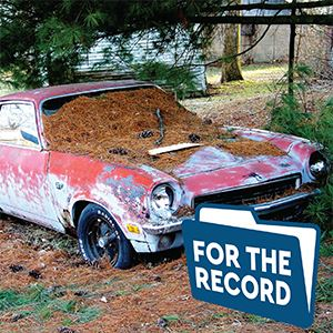 For The Record Junk Car