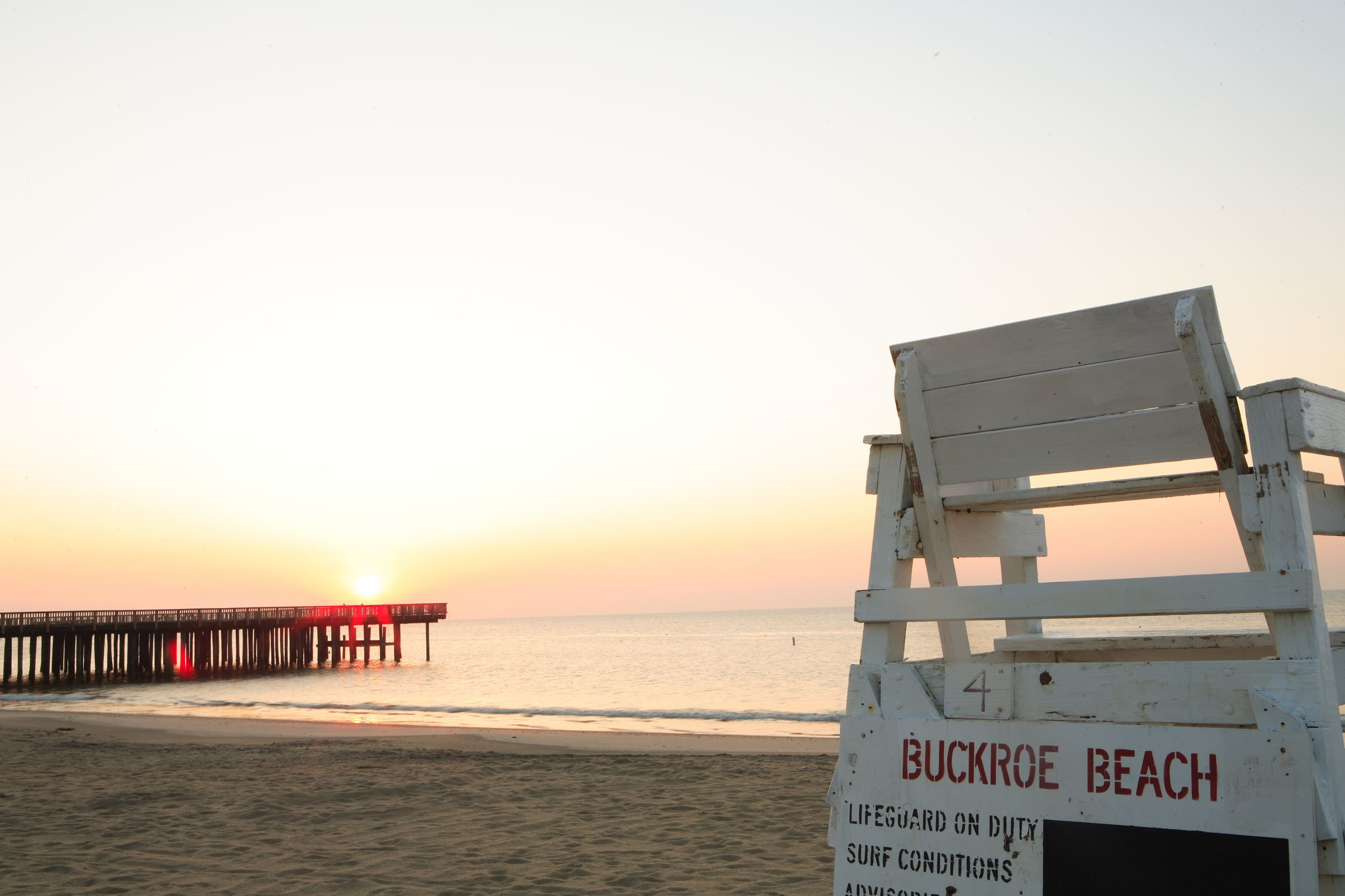 Buckroe Beach Lifeguard stand