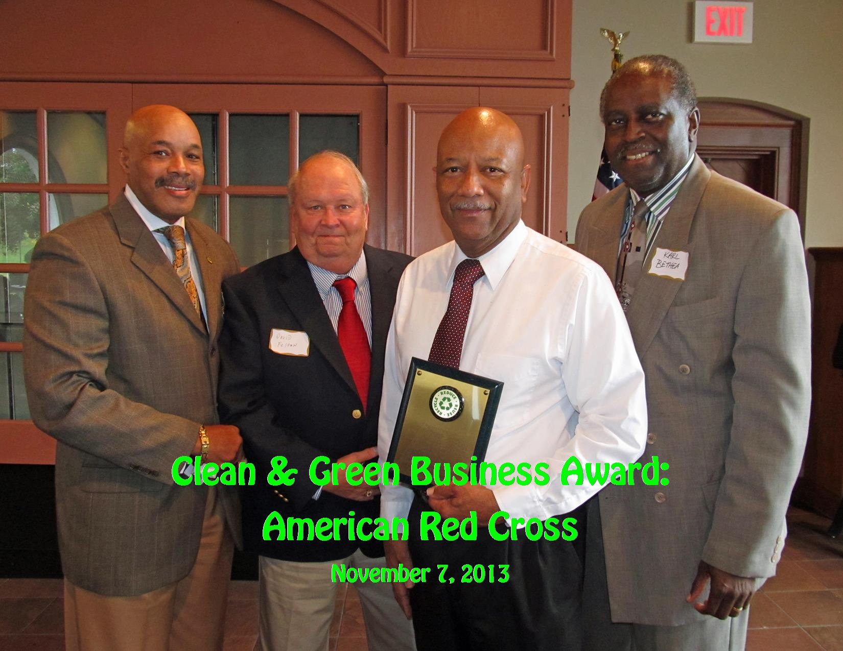 11-7-13 Clean Business Award American Red Cross