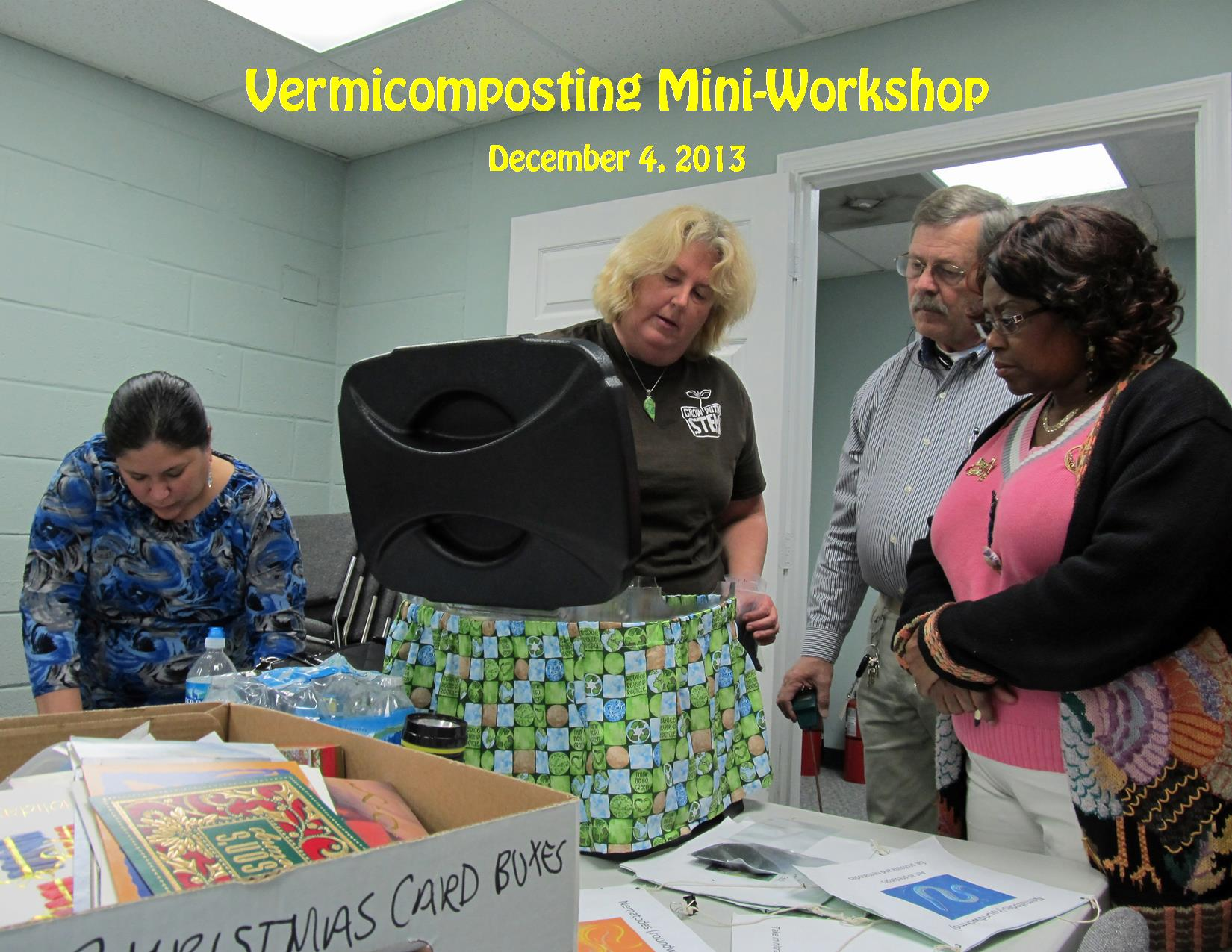 12-4-13 Vermicomposting Mini-Workshop