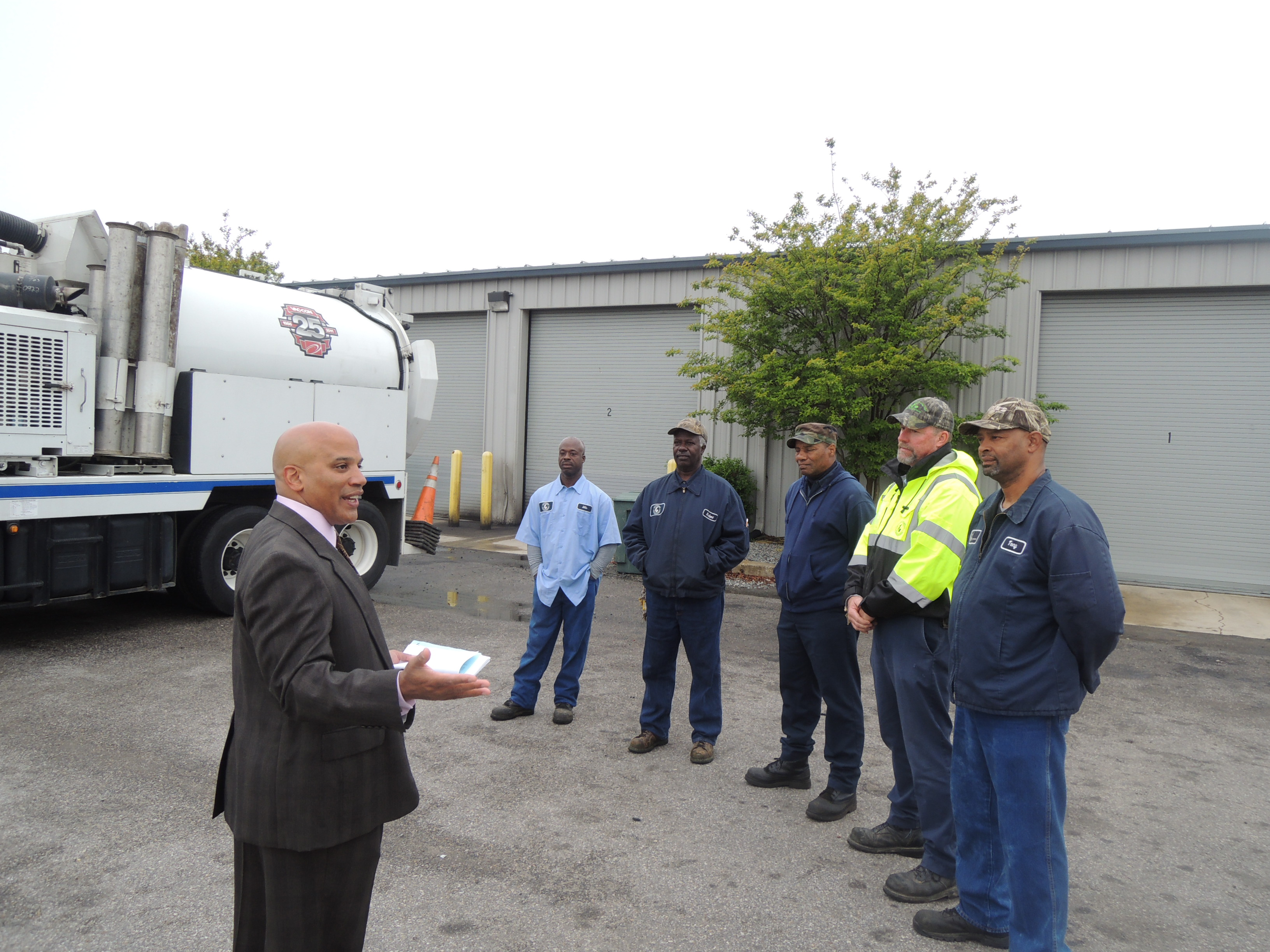 Wastewater employees thanked for job well done