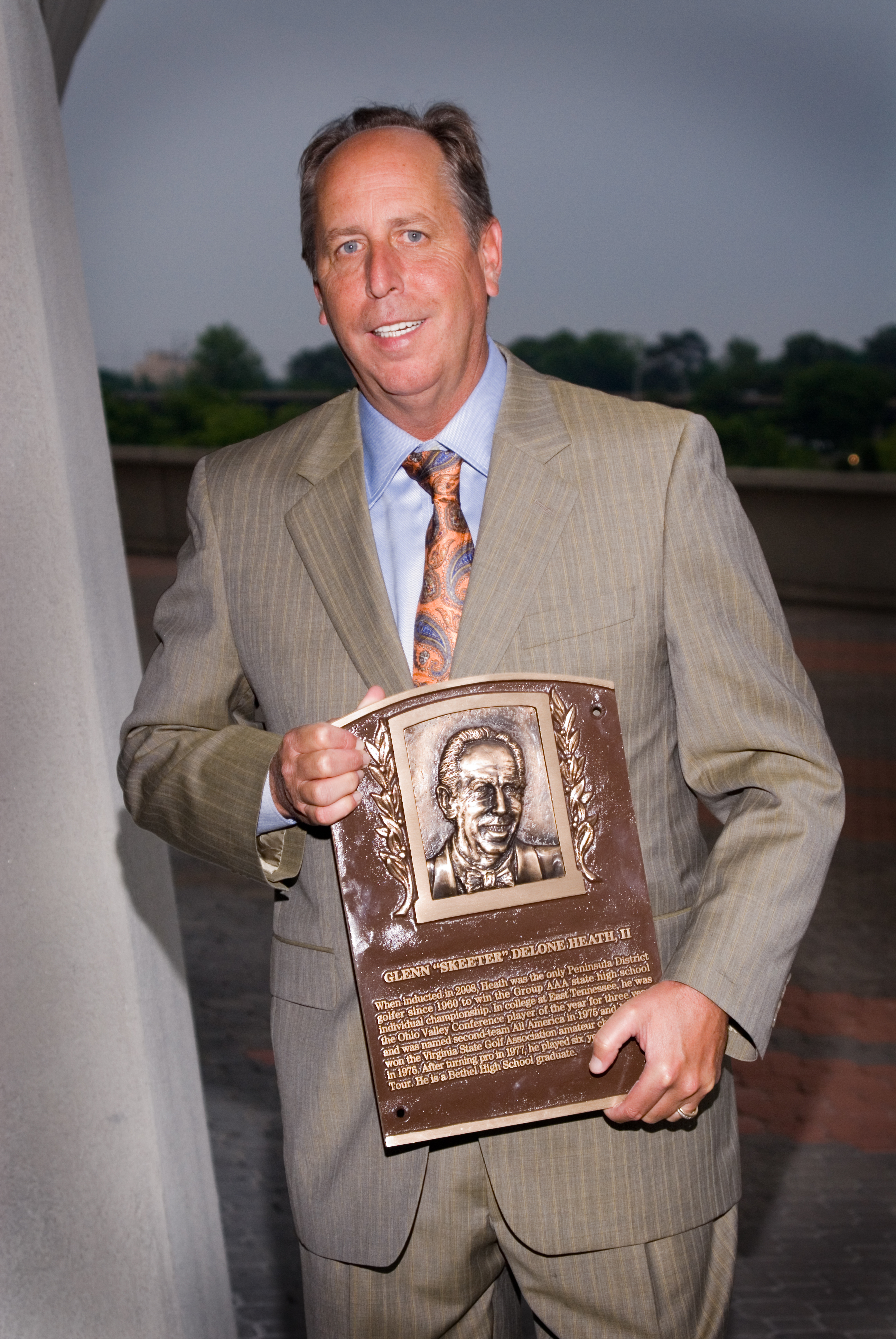 Skeeter with Bronze Plaque