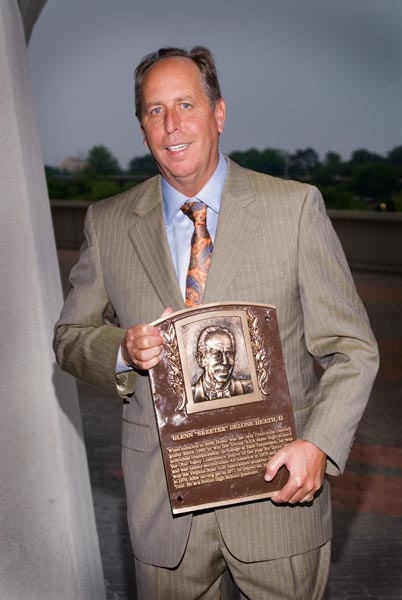 Skeeter Heath with Plaque