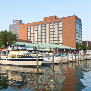 hotel from water